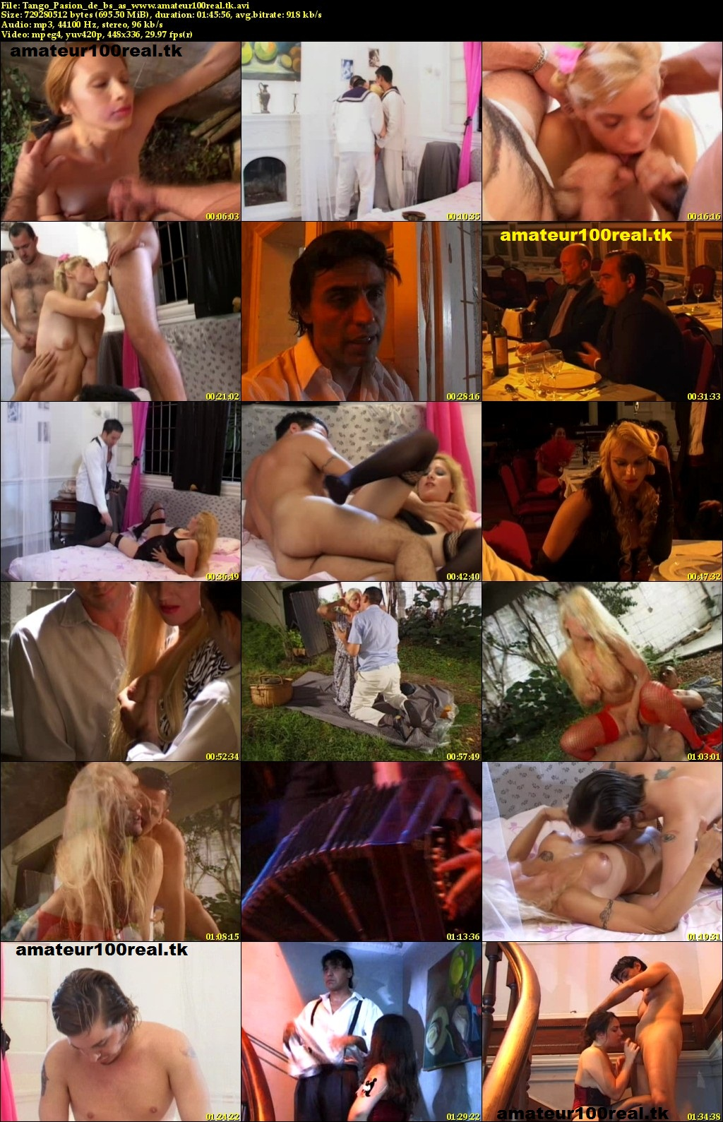 Argentina Pelicula Porno tango pasion de buenos aires xxx (español) peli argentina